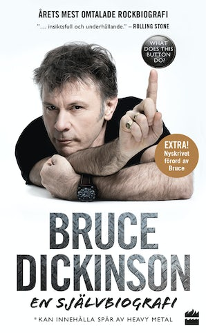 Bruce Dickinson: En självbiografi. What does this button do? book image